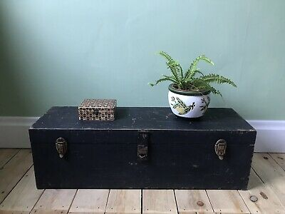 Vintage Wooden Box Chest Drawers Storage Jewellery Trinket Box