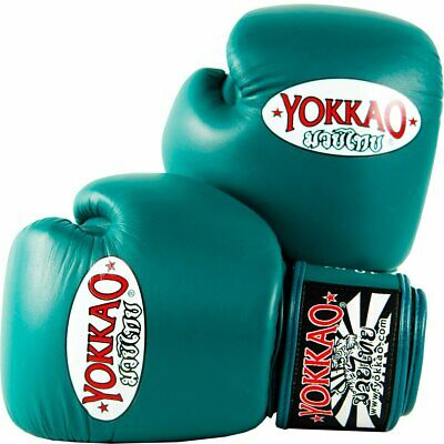 NEW YOKKAO MUAY Thai Kick Boxing K1 Gloves Matrix Lace Up