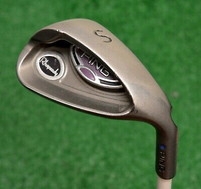 Ping Rhapsody Blue Dot SW Sand Wedge RH Ladies Graphite (E064)