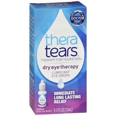 Theratears Sequedad Ocular Terapia Lubricante Gotas para Ojos - 14,8 ML (