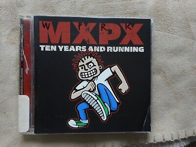 "Mxpx ""Ten Years And Running"" Cd Radio Station Promo 2002 Punk Tooth & Nail Label"