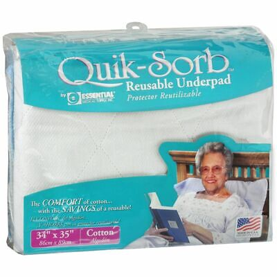 Essential Medical Supply Quik-Sorb Réutilisable Urine 86.4cmx88.9cm - 1 Chaque