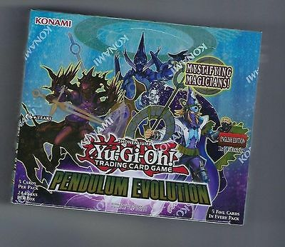 Yugioh Pendulum Evolution Factory Sealed 1st Edition English Booster Box (24pk)
