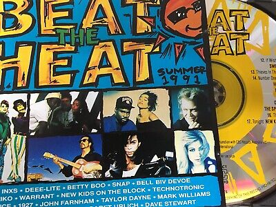 BEAT THE HEAT - Summer 1991 - Various CD 1990 WEA / Warner AS NEW!