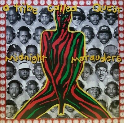 A Tribe Called Quest   Midnight Marauders CD 1993 VG CONDITION / FREE SHIPPING