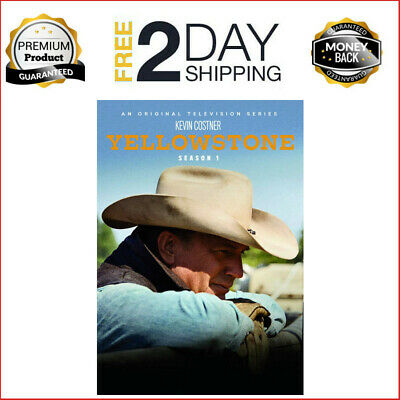 Yellowstone TV Series Complete First 1st Season 1 One 4-DISC DVD SET