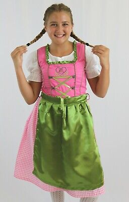 Girls Bavarian dirndl 3pc set