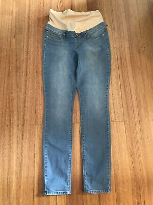 Jeanswest-Lightwash-Maternity Skinny Jean-Size 10