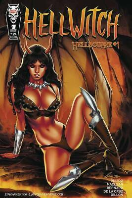 Hellwitch Hellbourne #1 Cover A - Coffin Comics - Pre-Order May
