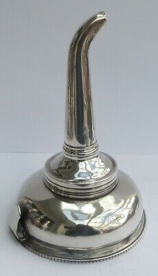 Georgiani English Silver Wine Funnel A/F