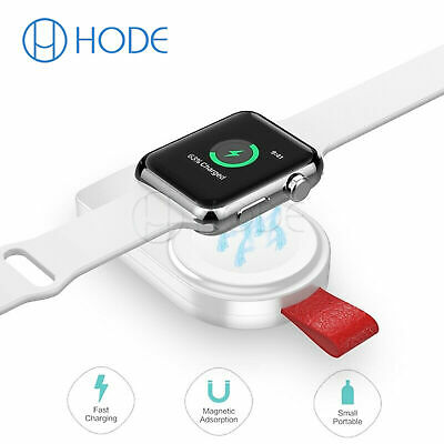 Portable Magnetic Wireless USB Power Charger for Apple Watch iWatch 1/2/3/4 UK