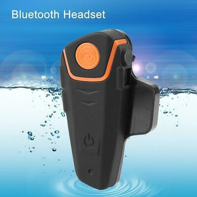 Waterproof 1000m BT-S2 Motorcycle Helmet Bluetooth Headset Motorbike Intercom S