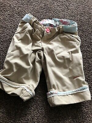 Joules Girls Cropped Trousers/long Shorts 4 Years