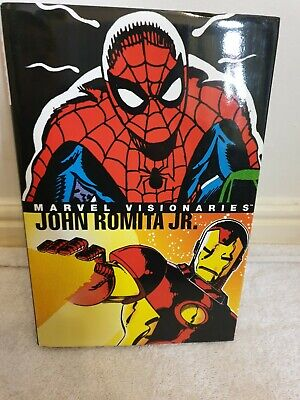 Marvel Visionaries John Romita Jr Graphic novel hardback