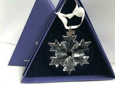 BROKEN Swarovski Snowflake Christmas Ornament Annual Edition 2018