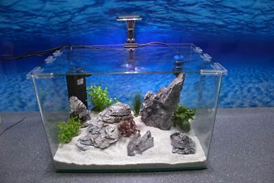 Wave Box ORION 45 Nano Aquarium Komplettaquarium Mini Aquarium+Filteranlage