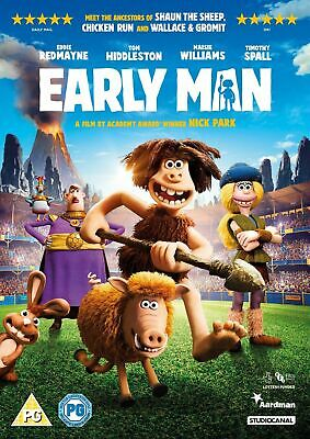 Early Man DVD [2018] BRAND NEW & SEALED UK FREE POST