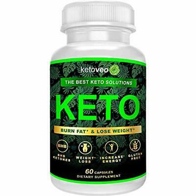 Keto Pills – Keto Weight Loss Supplement for Women and Men – Fat Burner and