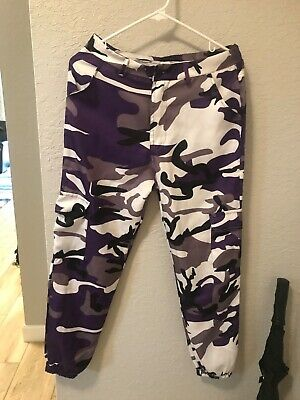 Hip Hop Womens Camo Cargo Trousers Casual Pants Military Army Combat Camouflage