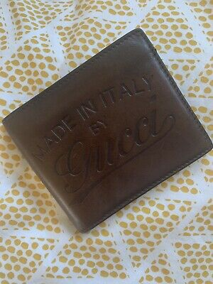 ddc75815fff8 Gucci men wallet Mod 256452 card holder 100% authentic ultra rare