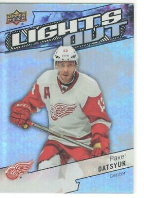 2018-19 Upper Deck  Ud Overtime Hockey Lights Out # Lo-7 Pavel Datsyuk
