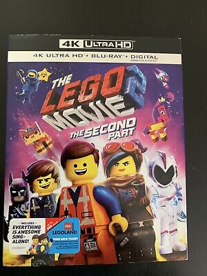 The Lego Movie 2 The Second Part (4K/Blu-ray/Digital) W/ Slipcover (New/Sealed)