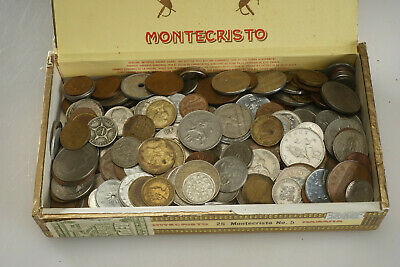 Lot of Mixed World Foriegn Coins 4lb+ Nice Starter Collection