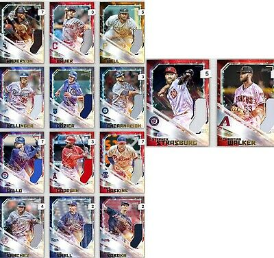 Topps Bunt Spark Relic Choose The Digital Card