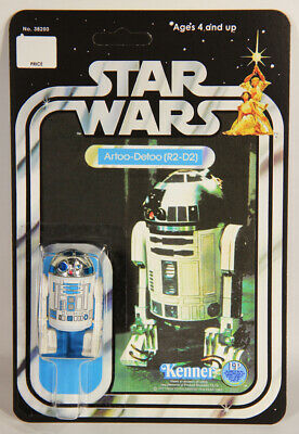 L010642 Star Wars Custom Card 12 Back 1977 / Action Figure / R2-D2 / Kenner