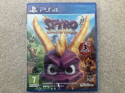 Spyro Reignited Trilogy PlayStation 4 New And Sealed