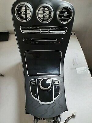 Mercedes C Class GLC W205 W253 Console Analogue Clock, Wood Panel Ambient