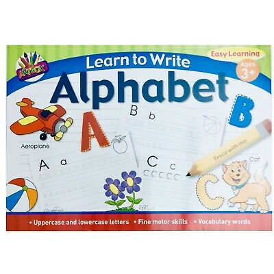 A4 Learn To Write Alphabet Easy Learning Book for Kids