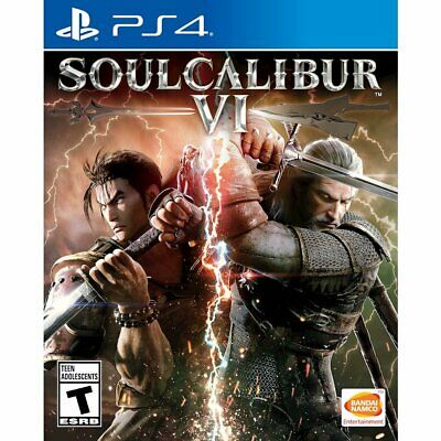 Soul Calibur VI 6 PS4 for Sony PlayStation 4 - Fighting Game - BRAND NEW SEALED