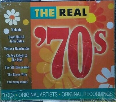 The Real '70s  3 CD Set 2002 BRAND NEW / FACTORY SEALED / NEVER OPENED FREE SHIP