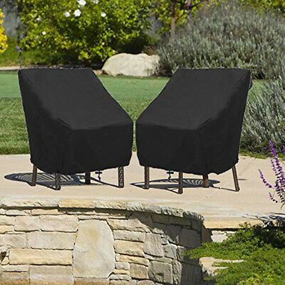 Weather Protector Chair Garden Patio Furniture Rain Waterproof Sunscreen Cover L