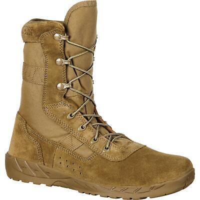 Rocky C7 CXT Lightweight Commercial Military Boot Speed lace eyelets and NATO