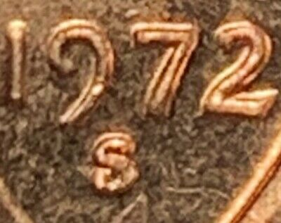 "1972-S/S Lincoln Cent Ddo Double Die Obverse Extremely Rare!! ""Wicked Nice""$$ !!"