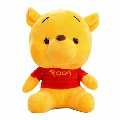 10cmCuddly Winnie the Pooh Bear Stuffed Plush Toy Doll Baby Kids NEW 2018