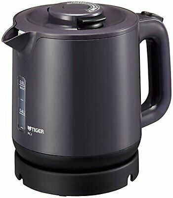 TIGER THERMOS ELECTRIC kettle 800ml Pearl black steam-less