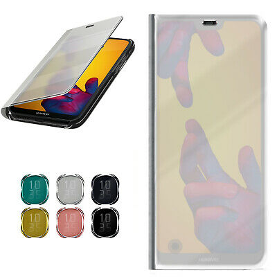 Flip Case for Huawei P20 Lite Cases Mirror Ccse New 360 Degree Transparent