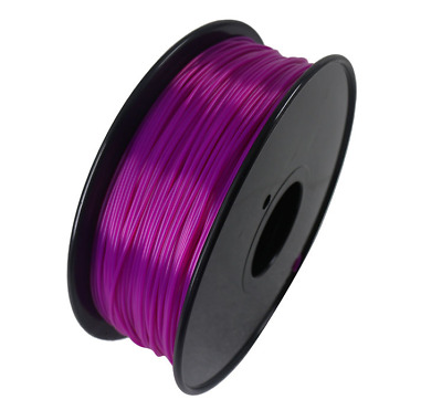 Purple Premium 3D Printer Filament 350Meters  1.75mm PLA for Makerbot Leapfrog