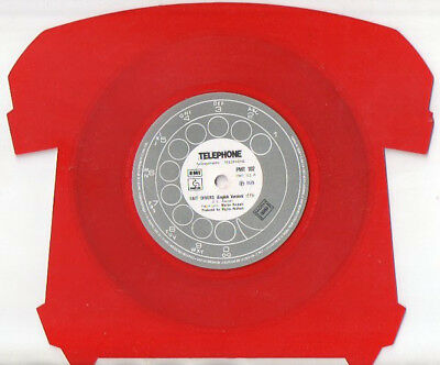 Telephone - Fait Divers - Super Rare Shaped Coloured Vinyl (PMT102) *VGC*