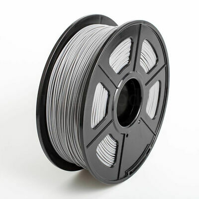 Grey Premium 3D Printer Filament 2.2lb 1.75mm PLA for Makerbot Leapfrog UK