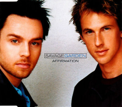 Savage Garden Affirmation Uk 3 Track Cd Single Almighty Mix Free P&P