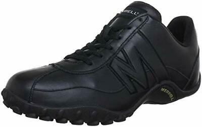 4077e0633846c Mens Merrell Sprint Blast Black Grey Leather Lace-Up Trainers Shoes Size 6.5