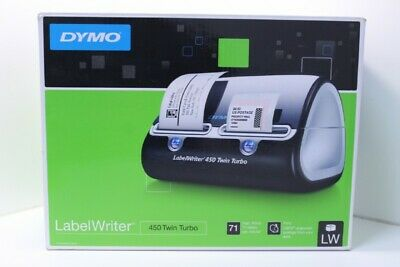 Dymo LabelWriter 450 Twin Turbo Label Thermal Printer