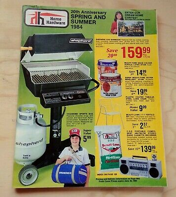 1984 Home Hardware Spring and Summer Catalogue - 20th Anniversary Issue