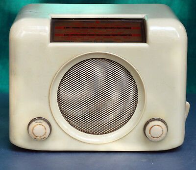 "Poste TSF Vintage ""Bush Radio DAC 90 A"" Made in UK 1950"