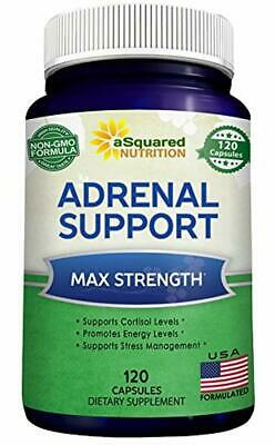 Adrenal Support Cortisol Manager Supplement (120 Capsules) - Adrenal Health Co