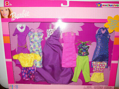 Barbie 8 FASHION GIFT PACK TRU EXCLUSIVE 2002 Clothes Pink